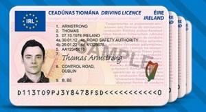 Come ottenere una patente di guida irlandese